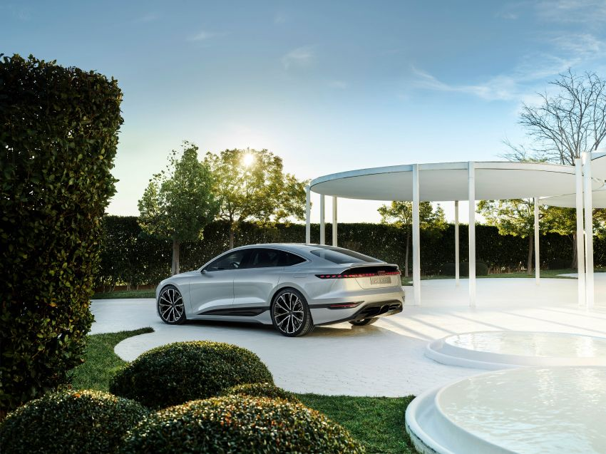 2021 Audi A6 e-tron concept debuts at Shanghai show – PPE-based EV, 100 kWh battery, up to 700 km range! Image #1283678