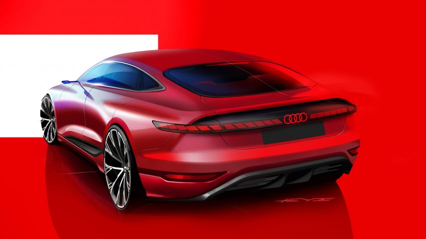 2021 Audi A6 e-tron concept debuts at Shanghai show – PPE-based EV, 100 kWh battery, up to 700 km range! Image #1283679