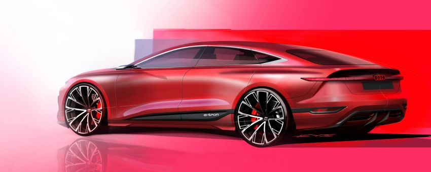 2021 Audi A6 e-tron concept debuts at Shanghai show – PPE-based EV, 100 kWh battery, up to 700 km range! Image #1283680