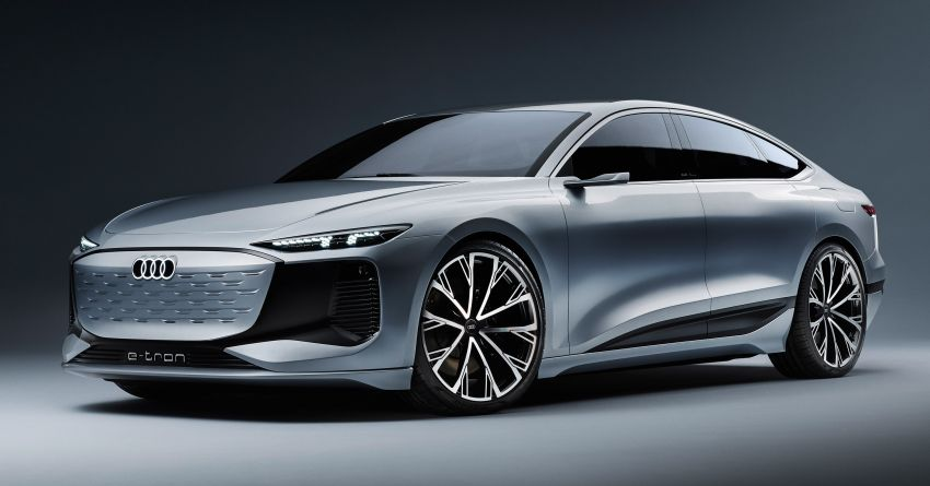 2021 Audi A6 e-tron concept debuts at Shanghai show – PPE-based EV, 100 kWh battery, up to 700 km range! Image #1283621