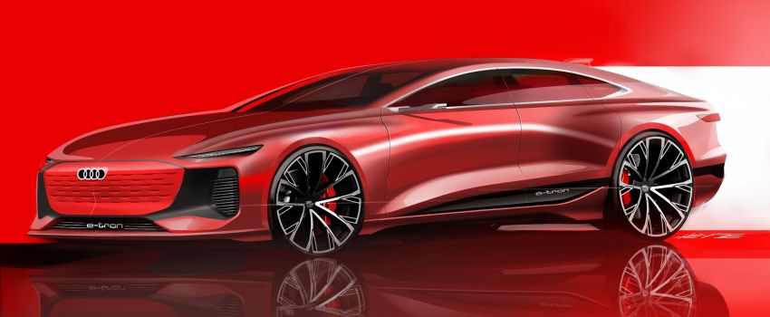 2021 Audi A6 e-tron concept debuts at Shanghai show – PPE-based EV, 100 kWh battery, up to 700 km range! Image #1283683