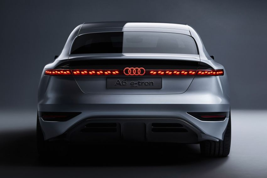 2021 Audi A6 e-tron concept debuts at Shanghai show – PPE-based EV, 100 kWh battery, up to 700 km range! Image #1283623