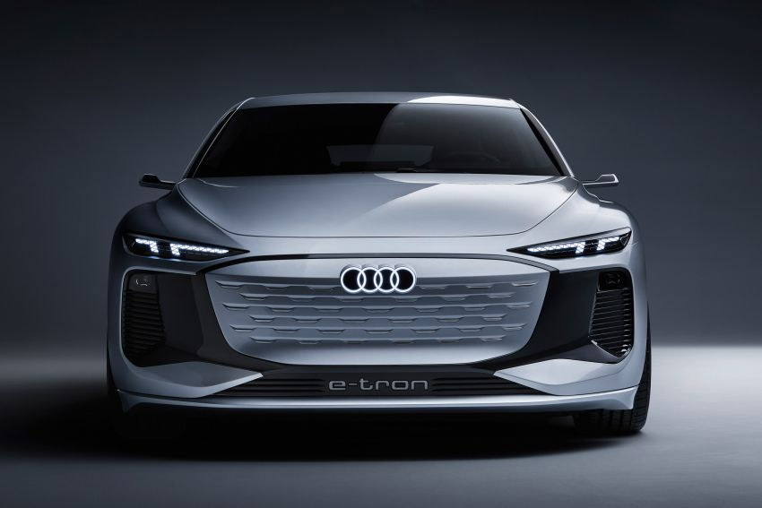 2021 Audi A6 e-tron concept debuts at Shanghai show – PPE-based EV, 100 kWh battery, up to 700 km range! Image #1283624