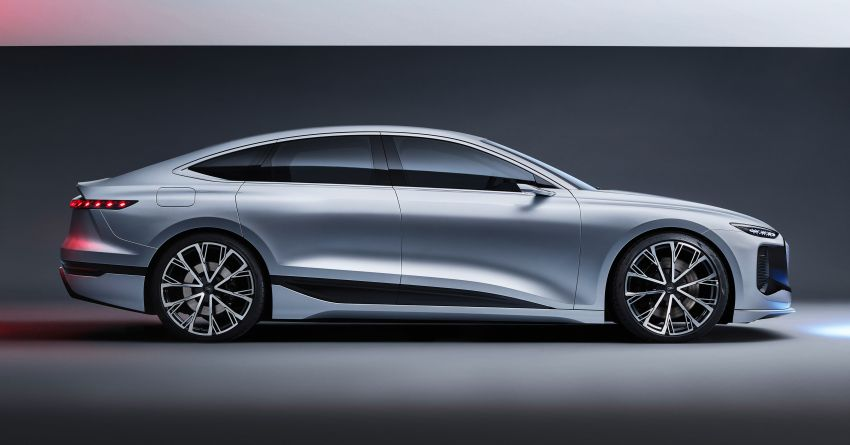 2021 Audi A6 e-tron concept debuts at Shanghai show – PPE-based EV, 100 kWh battery, up to 700 km range! Image #1283625
