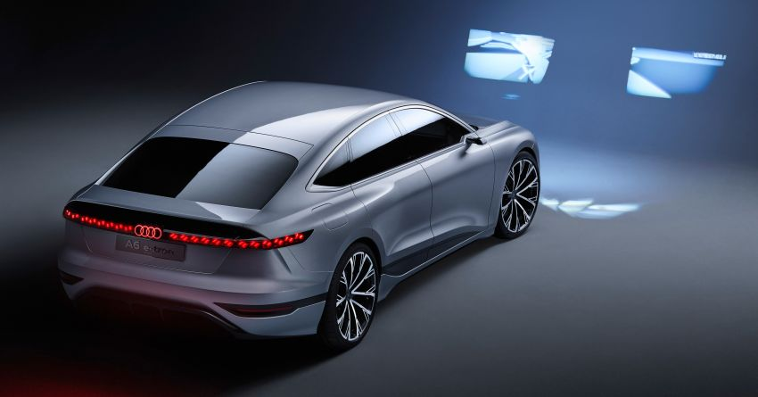 2021 Audi A6 e-tron concept debuts at Shanghai show – PPE-based EV, 100 kWh battery, up to 700 km range! Image #1283626