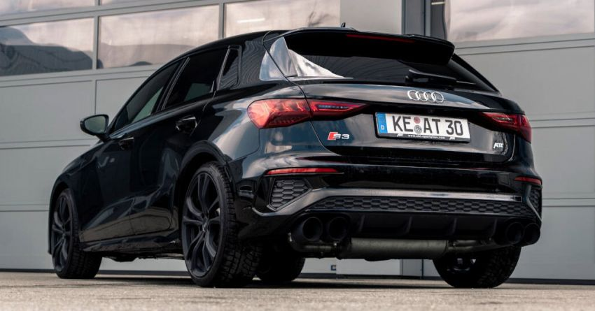 2021 Audi S3 gets new ABT Sportsline exhaust system Image #1285267