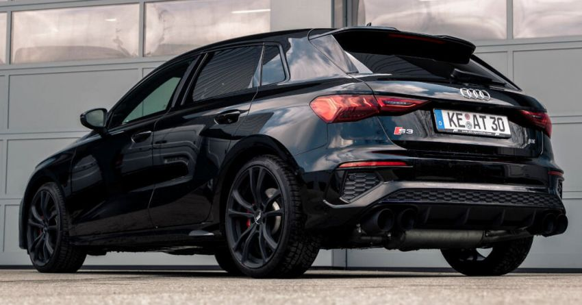 2021 Audi S3 gets new ABT Sportsline exhaust system Image #1285268