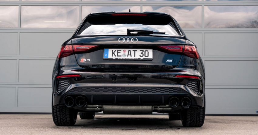 2021 Audi S3 gets new ABT Sportsline exhaust system Image #1285265
