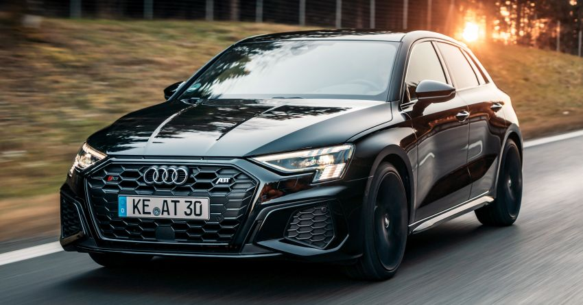 2021 Audi S3 gets new ABT Sportsline exhaust system Image #1285266