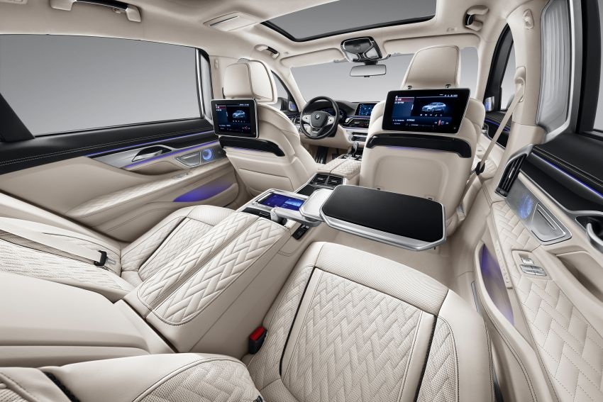 G12 BMW 7 Series Two-Tone special edition unveiled – based on M760Li xDrive; 6.6L V12, 25 units, China only Image #1284249