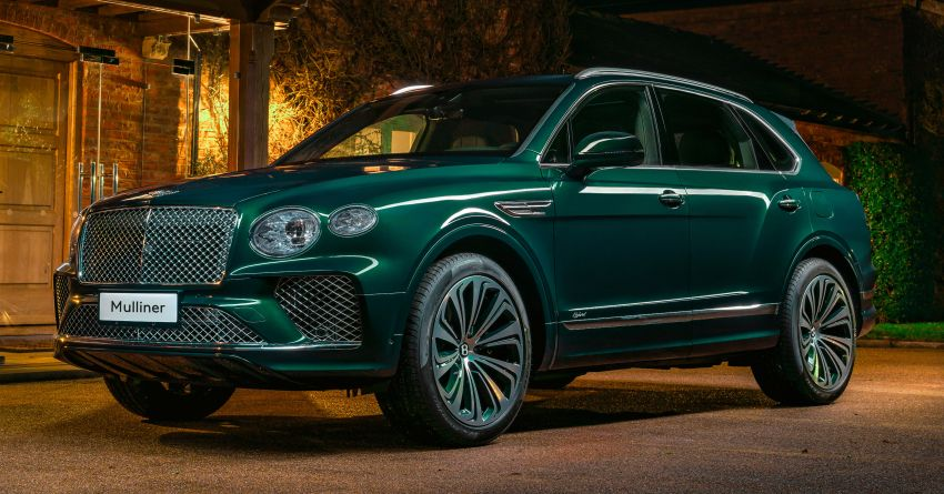 Bentley Bentayga Hybrid by Mulliner – one-off special for a customer in China, Viridian theme inside and out Image #1272392