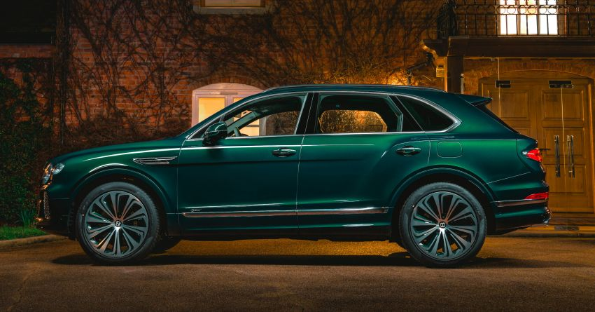 Bentley Bentayga Hybrid by Mulliner – one-off special for a customer in China, Viridian theme inside and out Image #1272393