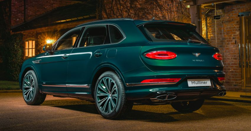 Bentley Bentayga Hybrid by Mulliner – one-off special for a customer in China, Viridian theme inside and out Image #1272394