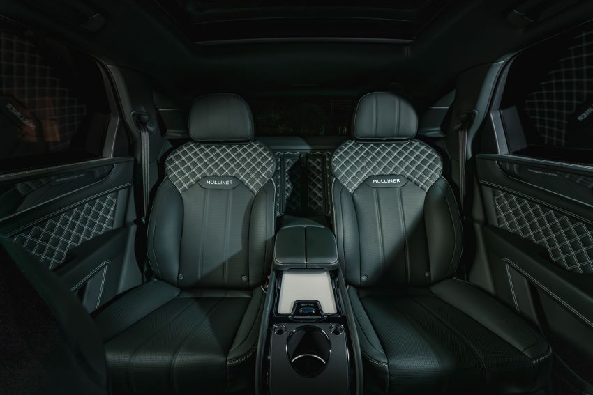 Bentley Bentayga Hybrid by Mulliner – one-off special for a customer in China, Viridian theme inside and out Image #1272397