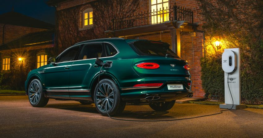 Bentley Bentayga Hybrid by Mulliner – one-off special for a customer in China, Viridian theme inside and out Image #1272388