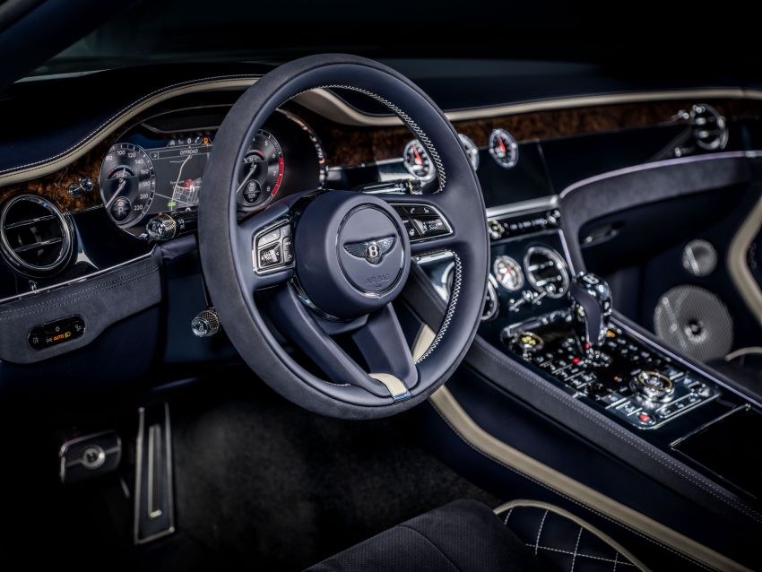 2021 Bentley Continental GT Speed Convertible debuts – 6.0L W12 beast, 659 PS, 900 Nm, 0-100 km/h in 3.7s! Image #1279570