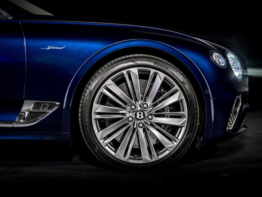 2021 Bentley Continental GT Speed Convertible debuts – 6.0L W12 beast, 659 PS, 900 Nm, 0-100 km/h in 3.7s! Image #1279574