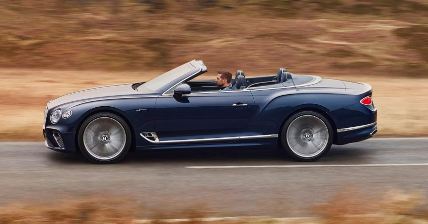 2021 Bentley Continental GT Speed Convertible debuts – 6.0L W12 beast, 659 PS, 900 Nm, 0-100 km/h in 3.7s! Image #1279579