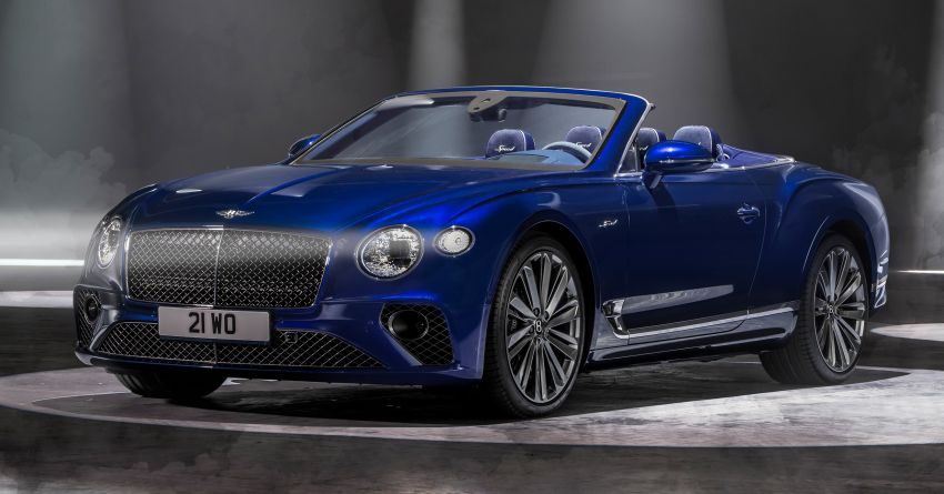 2021 Bentley Continental GT Speed Convertible debuts – 6.0L W12 beast, 659 PS, 900 Nm, 0-100 km/h in 3.7s! Image #1279559