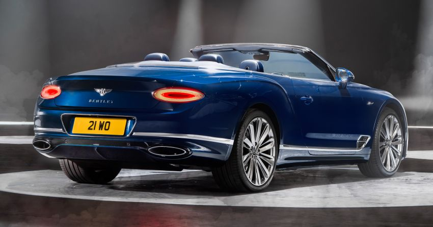 2021 Bentley Continental GT Speed Convertible debuts – 6.0L W12 beast, 659 PS, 900 Nm, 0-100 km/h in 3.7s! Image #1279560