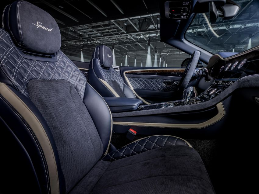 2021 Bentley Continental GT Speed Convertible debuts – 6.0L W12 beast, 659 PS, 900 Nm, 0-100 km/h in 3.7s! Image #1279565