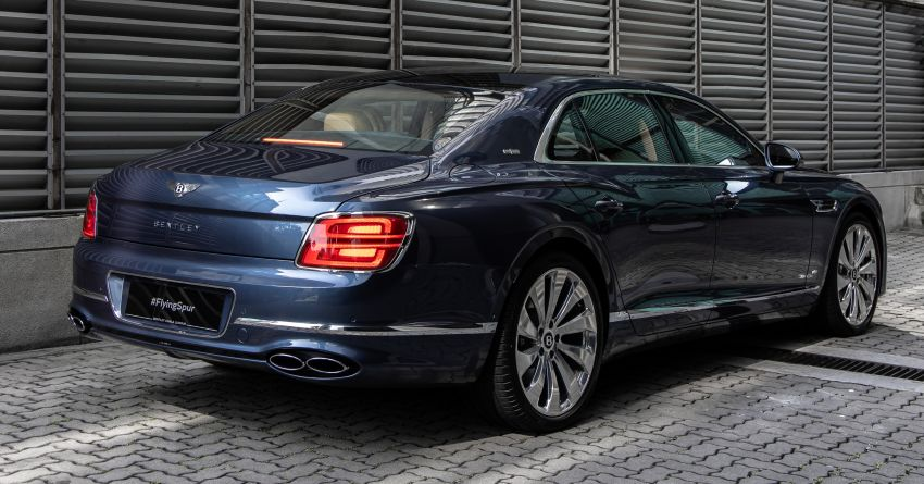 2021 Bentley Flying Spur V8 now in Malaysia, RM839k Image #1275385