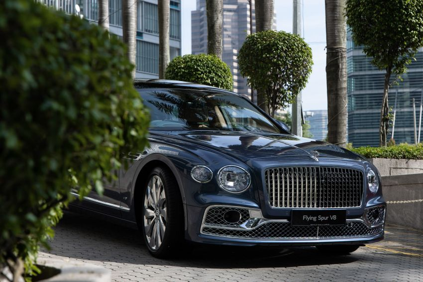 2021 Bentley Flying Spur V8 now in Malaysia, RM839k Image #1275386