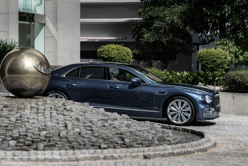 2021 Bentley Flying Spur V8 now in Malaysia, RM839k Image #1275388