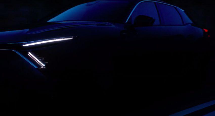 Next-gen Citroen C5 teased ahead of April 12 premiere Image #1276040