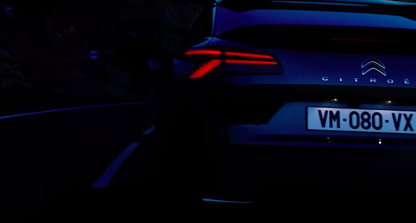 Next-gen Citroen C5 teased ahead of April 12 premiere Image #1276043