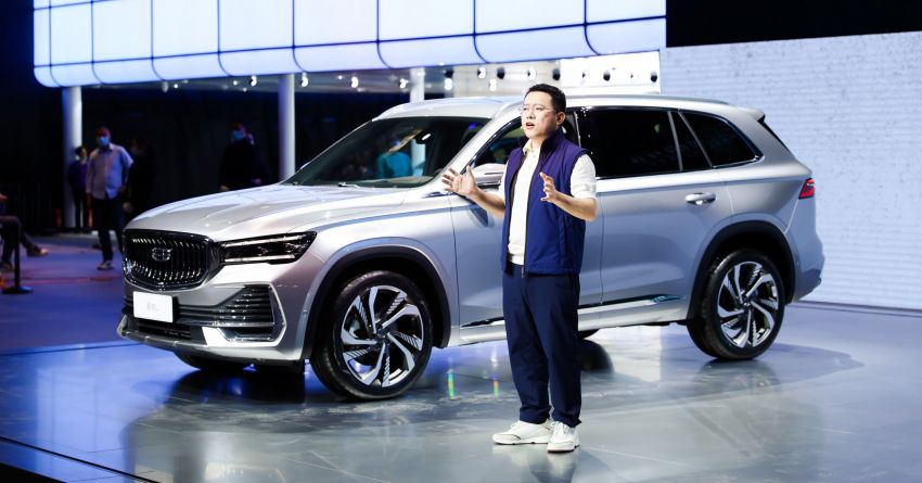 2021 Geely Xingyue L flagship SUV debuts in China – 2.0T, Level 2 autonomy with 5G-enabled self-parking! Image #1283846