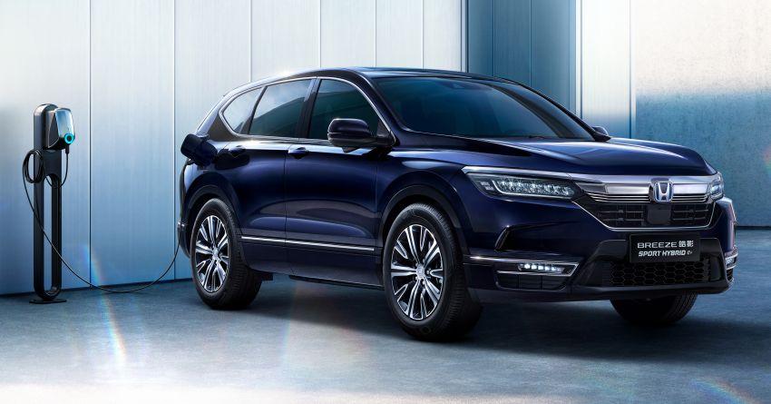 2021 Honda Breeze PHEV debuts at Auto Shanghai Image #1283842