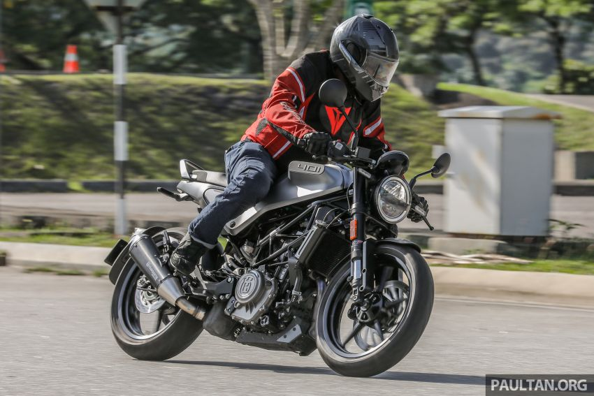 REVIEW: 2021 Husqvarna Vitpilen 401 – off-road hooliganism now comes with on-road manners Image #1289424