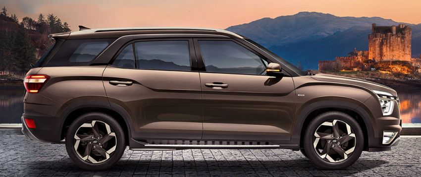 2021 Hyundai Alcazar revealed for India – new three-row SUV; 2.0L petrol and 1.5L turbodiesel; MT and AT Image #1276321