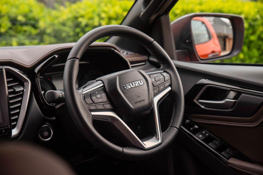 2021 Isuzu D-Max full details out in Malaysia – seven variants, 1.9L & 3.0L turbo, ADAS, fr. RM89k-RM142k Image #1280971