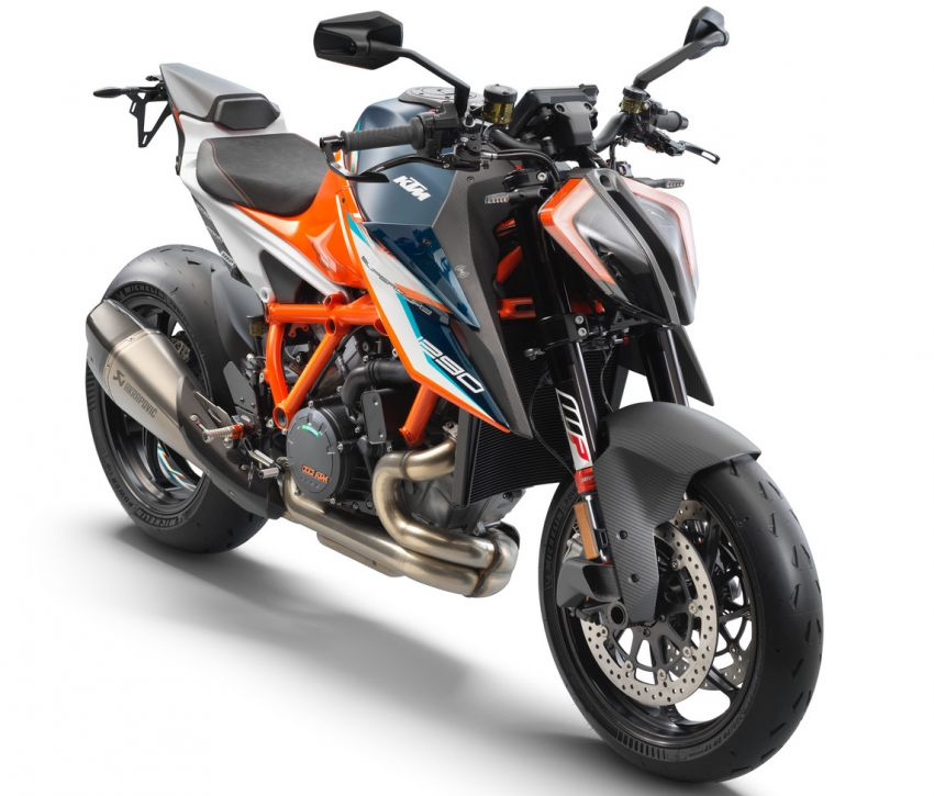 2021 KTM 1290 Super Duke RR limited edition – with carbon-fibre bodywork and enhanced electronics Image #1274791