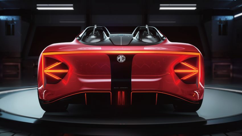MG Cyberster concept unveiled, to debut at Shanghai – 0-100 km/h in under 3 seconds, over 800 km range! Image #1273189