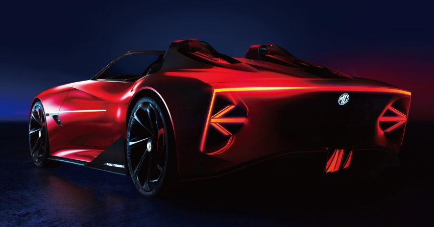 MG Cyberster concept unveiled, to debut at Shanghai – 0-100 km/h in under 3 seconds, over 800 km range! Image #1273190