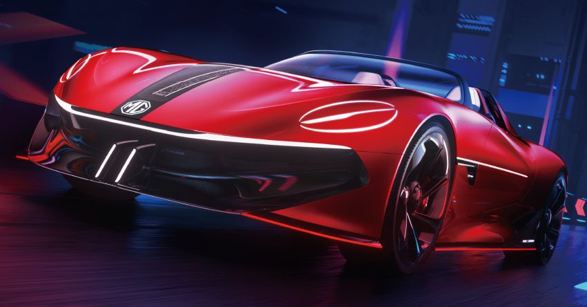 MG Cyberster concept unveiled, to debut at Shanghai – 0-100 km/h in under 3 seconds, over 800 km range! Image #1273191