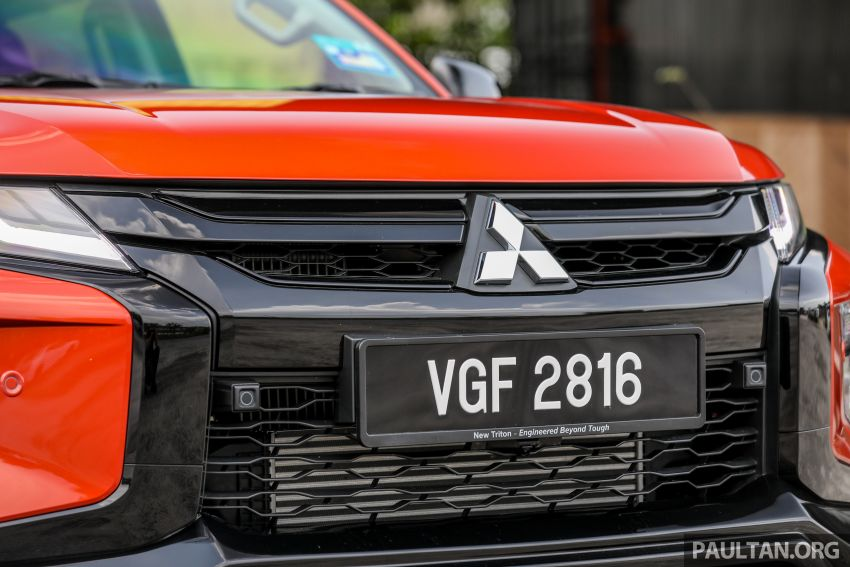 GALLERY: Mitsubishi Triton Athlete, new range-topper Image #1278314