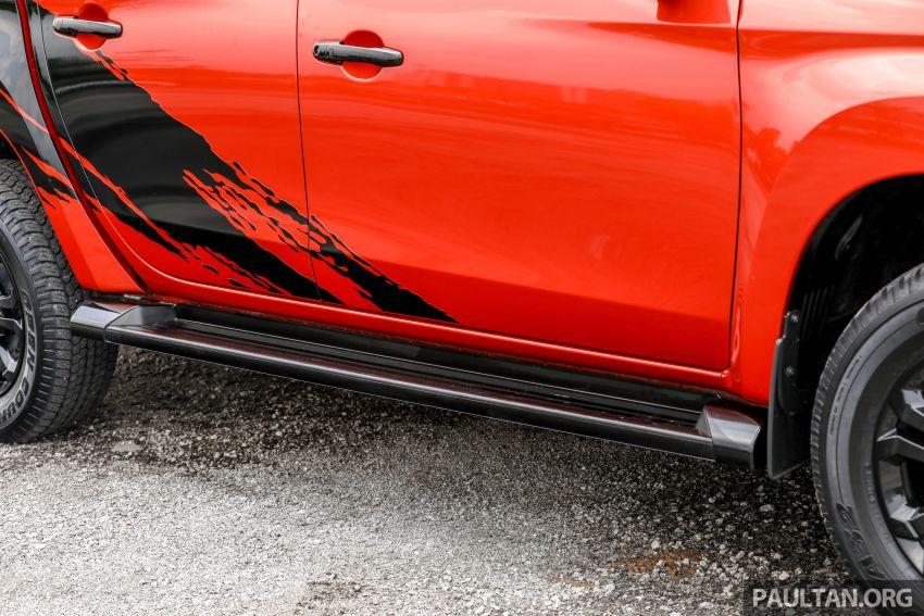 GALLERY: Mitsubishi Triton Athlete, new range-topper Image #1278320