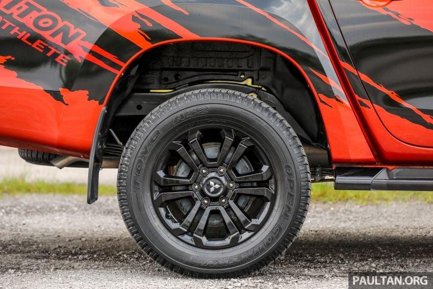 GALLERY: Mitsubishi Triton Athlete, new range-topper Image #1278322