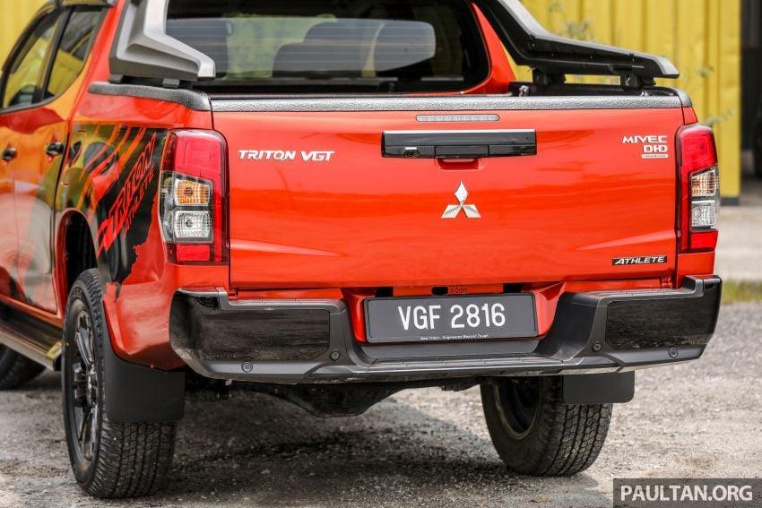 GALLERY: Mitsubishi Triton Athlete, new range-topper Image #1278323
