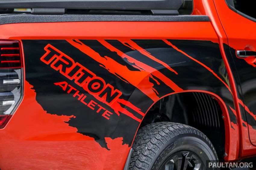 GALLERY: Mitsubishi Triton Athlete, new range-topper Image #1278329