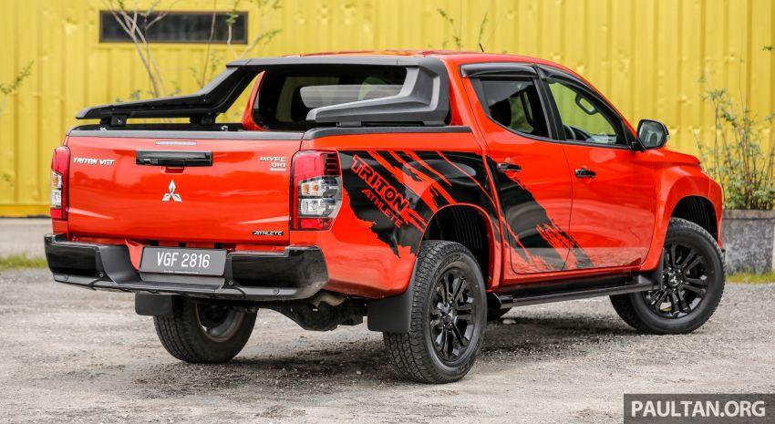 GALLERY: Mitsubishi Triton Athlete, new range-topper Image #1278300