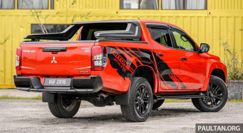 GALLERY: Mitsubishi Triton Athlete, new range-topper Image #1278301