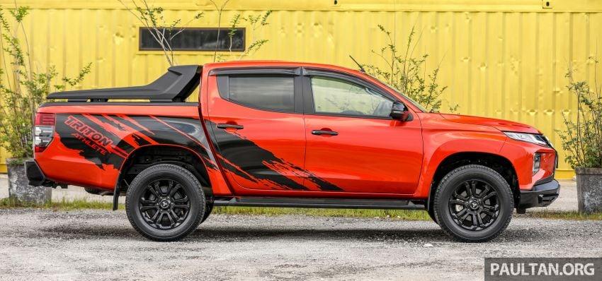 GALLERY: Mitsubishi Triton Athlete, new range-topper Image #1278304