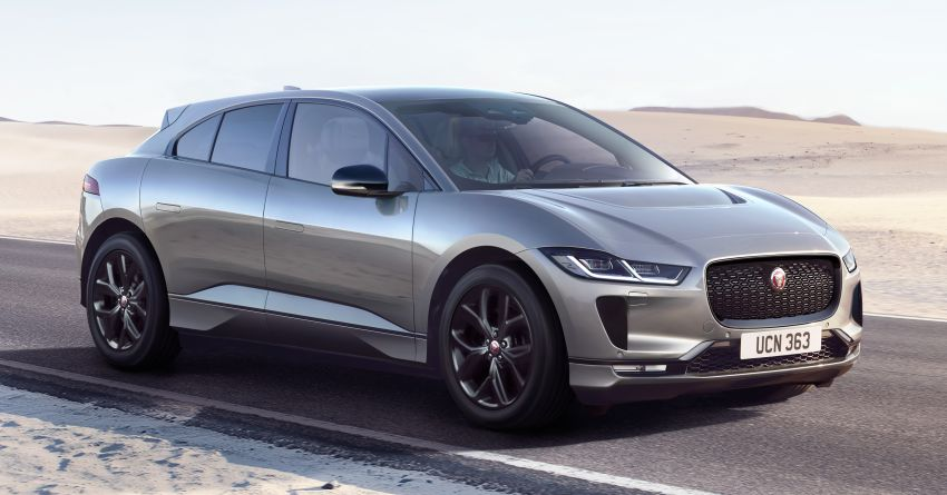 2021 Jaguar I-Pace Black special edition now in the UK Image #1284338