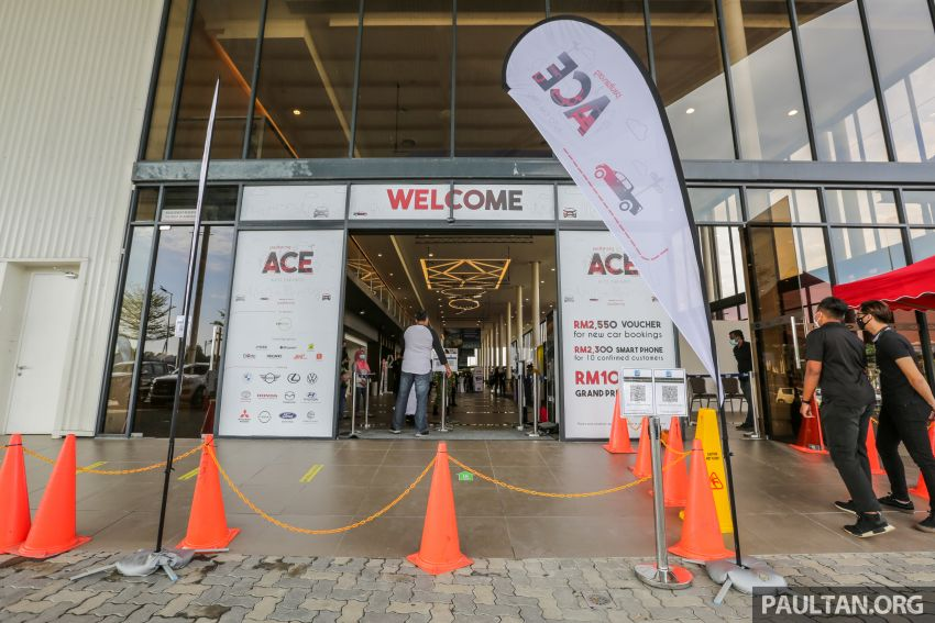 ACE 2021 starts today! Great deals from 12 car brands, buy and get RM2,550 vouchers, win lucky draw prizes Image #1282472