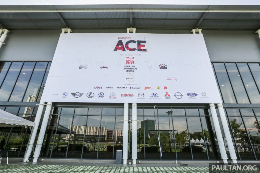 ACE 2021 starts today! Great deals from 12 car brands, buy and get RM2,550 vouchers, win lucky draw prizes Image #1282455